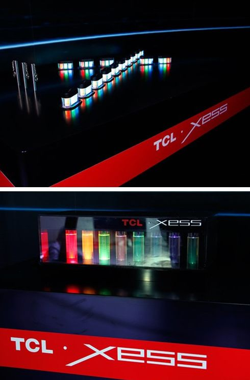 酷酷的量子点,TCL XESS旗舰电视的标配~!
