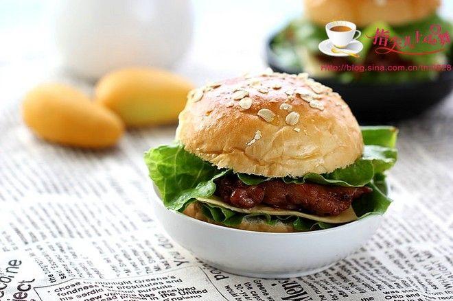 全麦鸡腿汉堡包制作方法第29步-万维家电网