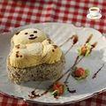 小熊芒果冰淇淋粗粮面包