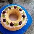 酒渍樱桃蛋糕