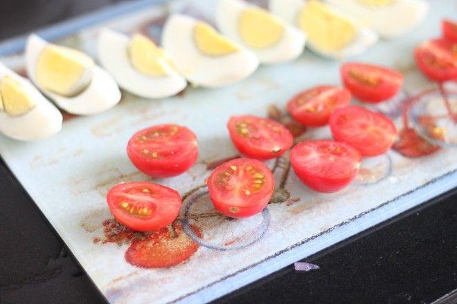 鸡蛋蔬菜沙拉制作第5步