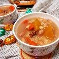 腊八粥--鲜花生鲜玉米and南瓜大黄米粥