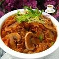 韩式泡菜肥牛锅