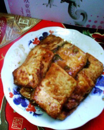 【家常菜】锅塌豆腐制作第9步