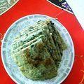 【家常菜】荠荠菜煎饼