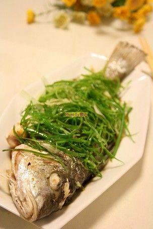 清蒸鲈滑鱼