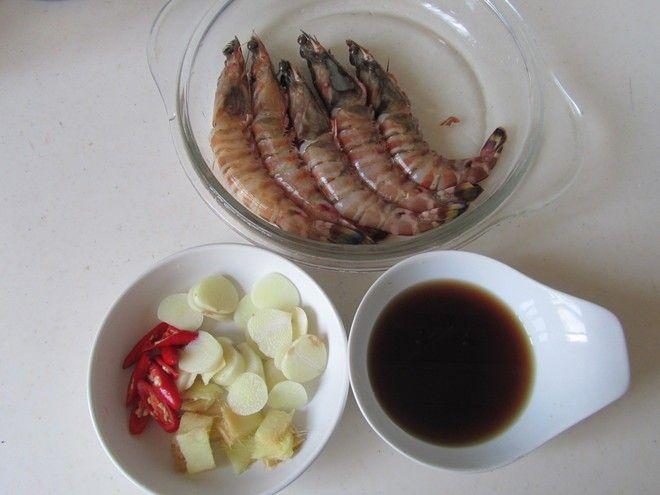 【膳食】干烧大虾制作第3步