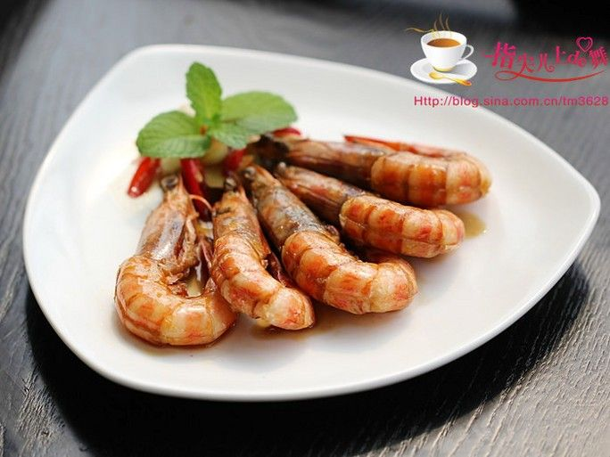 【膳食】干烧大虾