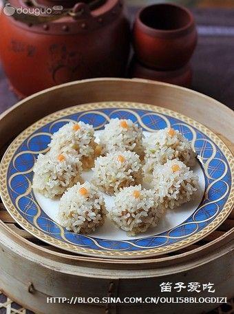 珍珠豆腐丸子