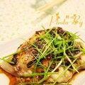 【膳食】豉汁蒸草鱼