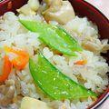日式鸡五目蒸饭--营养搭配十足的米饭