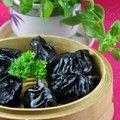 能够排毒的蒸饺——黑玉珍珠饺