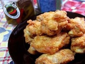 【我爱美食】晒晒我用海尔电磁炉做出的炸鸡翅