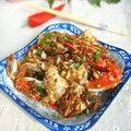 蒜香干锅梭子蟹