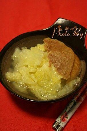 金华火腿白菜汤