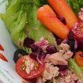 金枪鱼甜菜头沙拉