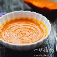 浓浓奶香的南瓜汤