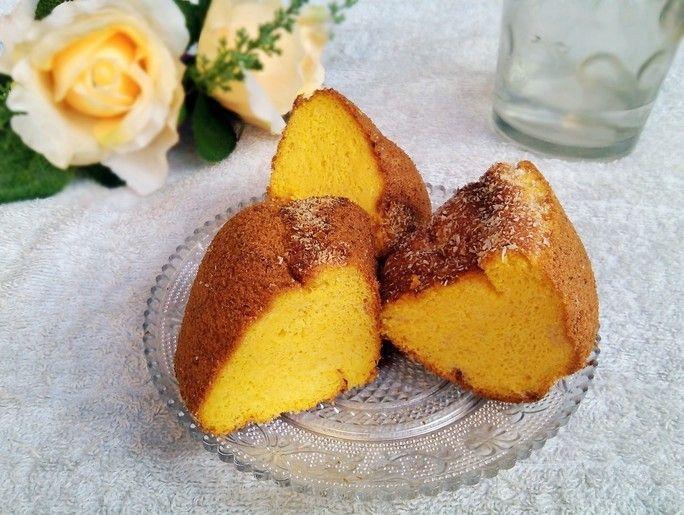 无油南瓜蛋糕