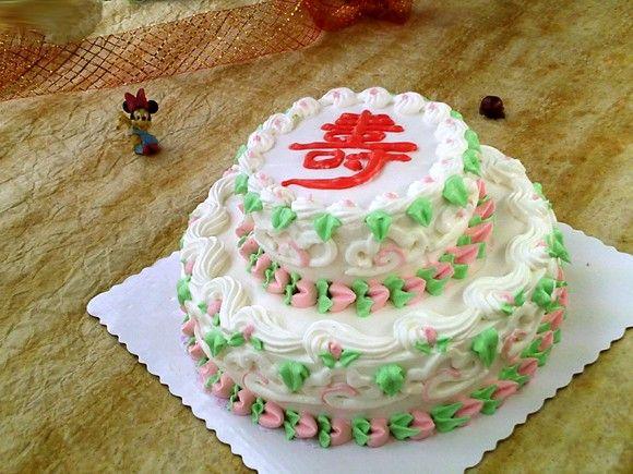 自制蛋糕裱花图片大全 图片合集