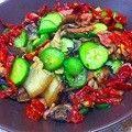 腌黄瓜炒肉