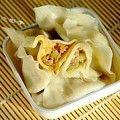 芹菜馅的肉饺子