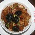 冬天的炖菜:素炖大萝卜