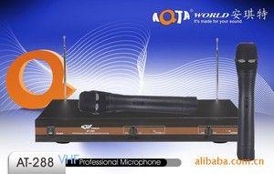 供应KTV,AT-288领夹.专业无线麦克风系统