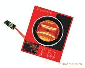 豪华电磁炉,光波炉,七位数码触摸型,可配遥控(图)
