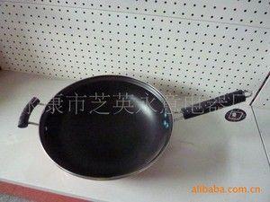 一品锅 厂家直销带耳朵耐用硬质。万里香不粘炒锅