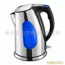 安博尔电水壶 电热水壶 不锈钢 水窗