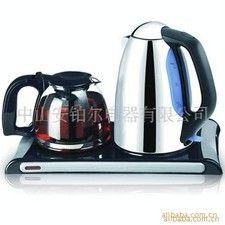 安博尔电水壶 电热水壶不锈钢保温套装礼品
