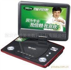 """供""""巨大"""" """"AV-108""""便携式/移动DVD,EVD,CD,带USB,TV,FM,SD,GAMES"""