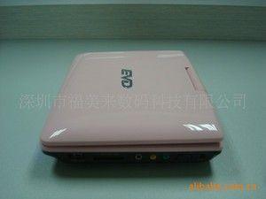 """供""""巨大"""" """"AV-760""""便携式/移动DVD,EVD,带USB,TV,FM,SD,GAMES"""