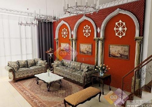 家居装饰 欧式 古罗马殿堂式设计风格