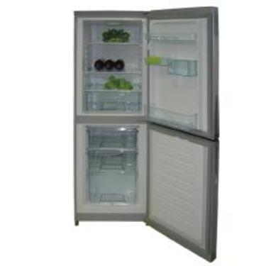 荣事达 bcd-178gsr酒红花纹冰箱图片