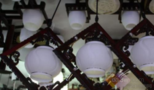 香山木md3-102吊灯图片