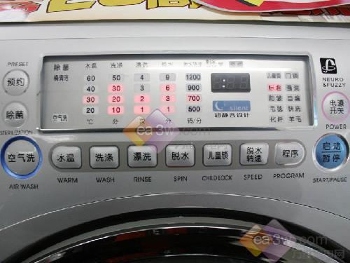 三洋xqg65-l903bcs洗衣机图片
