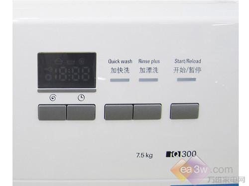 智能控制个性化洗涤 西门子3D正负洗衣机