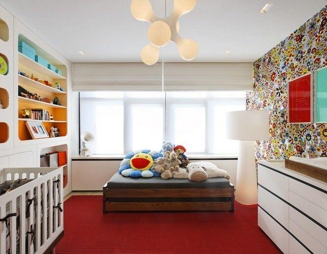 浪漫儿童房装修效果美图欣赏