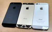 金色版iPhone 5S真机高清图曝光