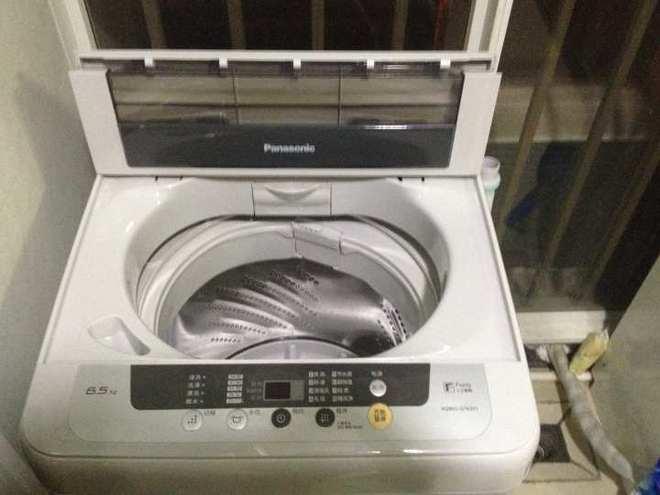 松下洗衣机上水中突然自动报警出现h43然后自动排水洗衣机就不动了