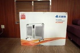 做工加热都很出色——我的艾美特电暖器HL24086R试用报